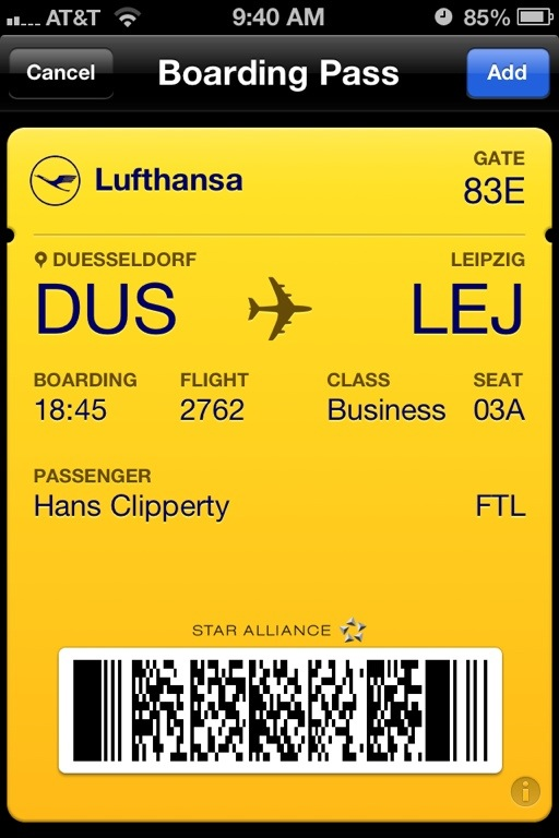 Passbook App For Android