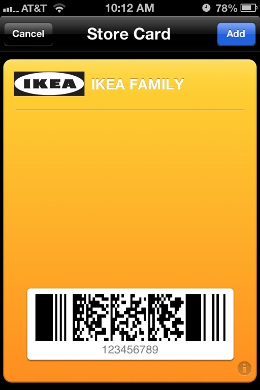 create ikea family card for passbook. Black Bedroom Furniture Sets. Home Design Ideas