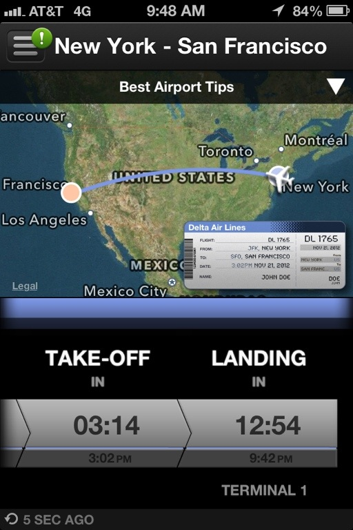 how to add flight to passbook