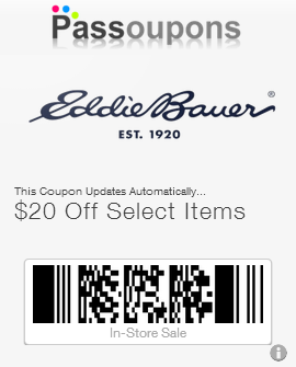 Eddie bauer discount coupons