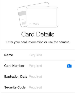 Apple Pay instructions